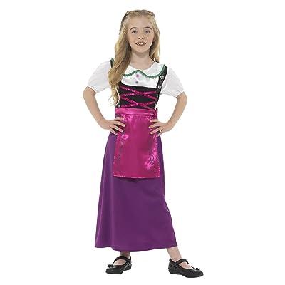 Smiffys 48142T Déguisement Enfant Princesse Bavaroise Taille Unique Multicolore