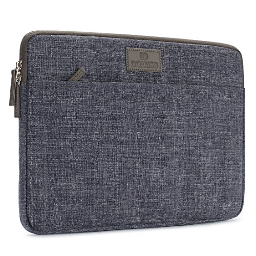 DOMISO 14 Inch Laptop Sleeve Canvas Case Tablet Bag Protect