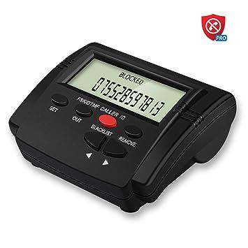 coupon codes wholesale online super popular Codomoxo Powering Land Line Phone Call Blocker, 16000 Chiffres numérotent  la capacité de la liste Noire, bloquant Les télévendeurs, Les Robots