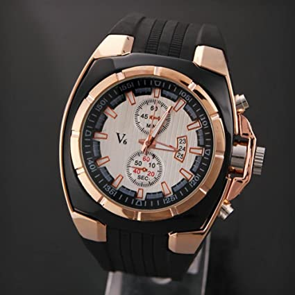 LNTGO V6 MenS Stainless Steel Watch Sports Army Casual Reloj Hombre Relogio Masculino High Quality