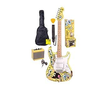 Bob Esponja sbg78 7/8 s de Set de guitarra Amarillo: Amazon.es: Instrumentos musicales