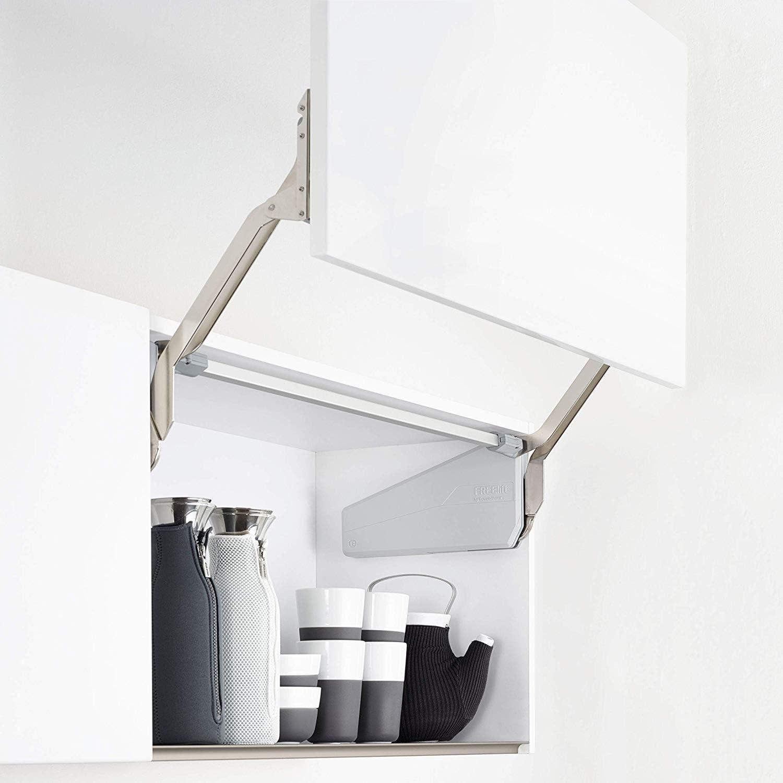 SO-TECH® FREEslide P2us Herraje para puertas elevables elevador para armarios de 345-420 mm/peso de puerta 4,1-8,0 Kg