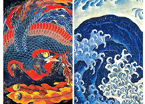 Buttonsmith Hokusai Refrigerator Feminine Phoenix product image