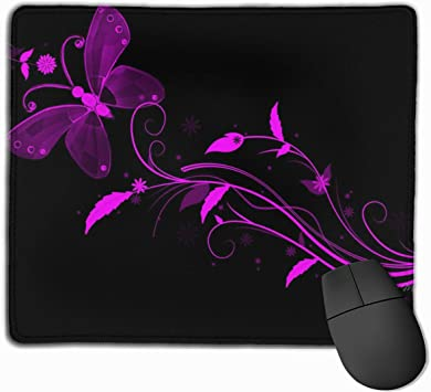 SHruizhuo Ergonomic Mouse Pad with Gel Wrist Rest Support,Customized Mouse Mat with Non-Slip Rubber Base,Mousepad for Laptop Computer Black Gold Marble