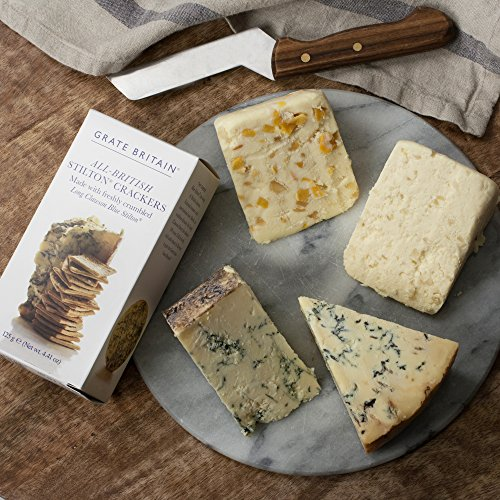 KaBloom Gift Basket Collection: Britian's Famous Stilton Cheese Gourmet Gift ()