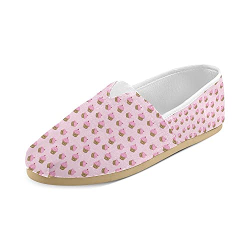 Shoes Colorful Tossed Sugar Cake Slip-on Canvas Loafer for Women