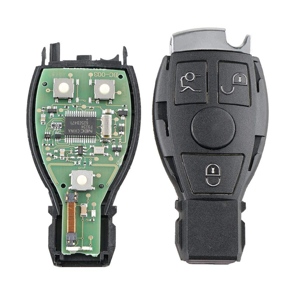 tecla del Coche del Control Remoto de los Botones para el Benz de Mercedes para el Control del NEC BGA de Mercedes Benz Euopat Llaves del Coche