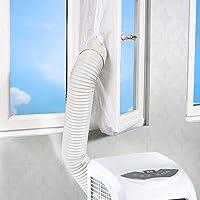 Wovatech Universele raamafdichting voor draagbare airconditioner - Air Exchange Guards met ritssluiting en haakband…