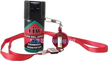 Spray de defensa personal, 100% legal en Reino unido, con colgante (no contiene pimienta): Amazon.es: Salud y cuidado personal