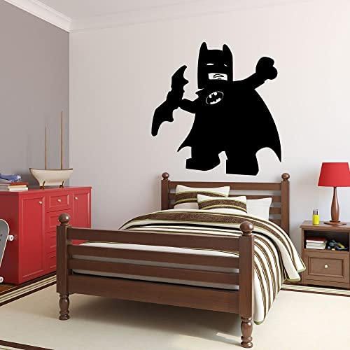 Amazon.com: Lego Batman Decal - DC Comics Superheroes Vinyl Wall ...