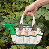 GardenHOME-Indoor-Small-or-Kids-Garden-7-Piece-Stainless-Steel-Garden-Tools-1-Garden-Tool-Bag-3-Tools-2-Scissors-1-Garden-Sprayer