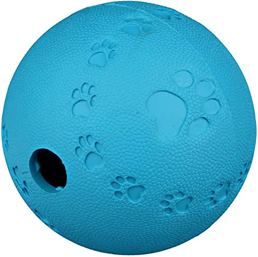 Trixie, Pelota Snack de caucho natural para perros: Amazon.es ...