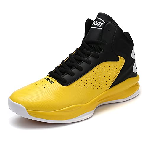 Gomnear Hombres Zapatos de Baloncesto Zapatillas de Deporte Respirables de Moda al Aire Libre