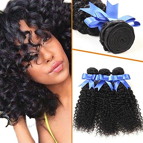 Lovenea TM Malaysian Jerry Curl Hair Weave Extension 3 (Jerri Curl Wig)