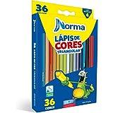 Lapis de Cor Norma 36 cores, Waleu