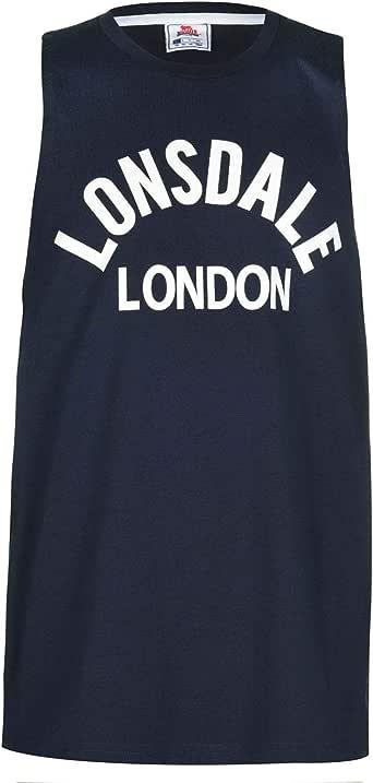 Lonsdale - Camiseta de Tirantes para Hombre, Cuello Redondo, Ligera: Amazon.es: Ropa y accesorios