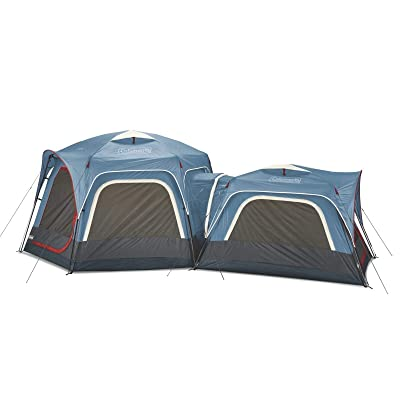 RT 2pcs of 6-Person Fast Connectable Pitc 3-Person Outdoor Tent Bundle: Garden & Outdoor