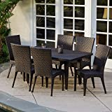 Brooklyn 7-pieces Outdoor Wicker Dining Set