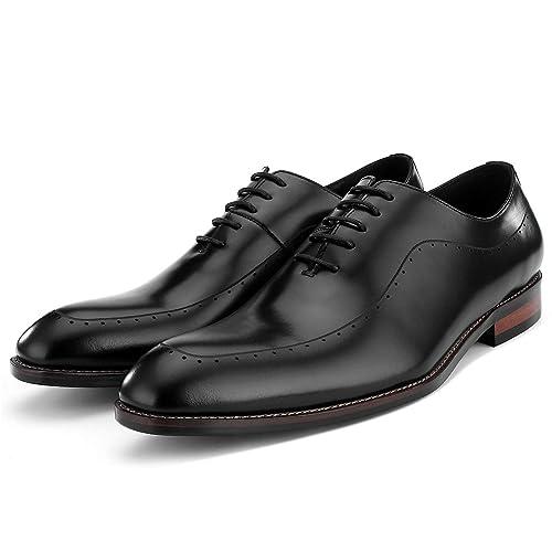 Amazon.com: Zapatos de piel hechos a mano, zapatos de hombre ...