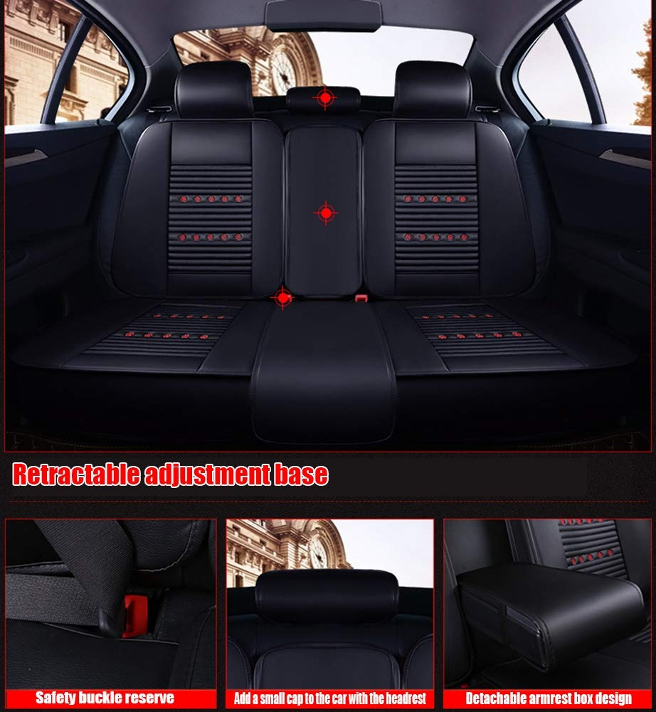 zfproduct 4Pcs Black Iron Tail Light Lamp Cover Trim Frame for Jeep Renegade 2015-2016