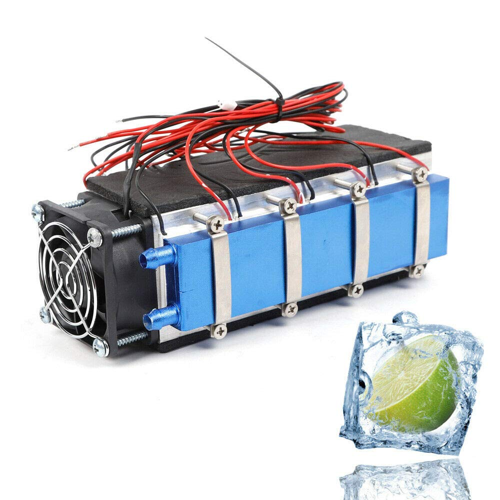 TFCFL 12V 576W 8-Chip TEC1-12706A DIY Thermoelectric Peltier Cooler Air Cooling Device by TFCFL