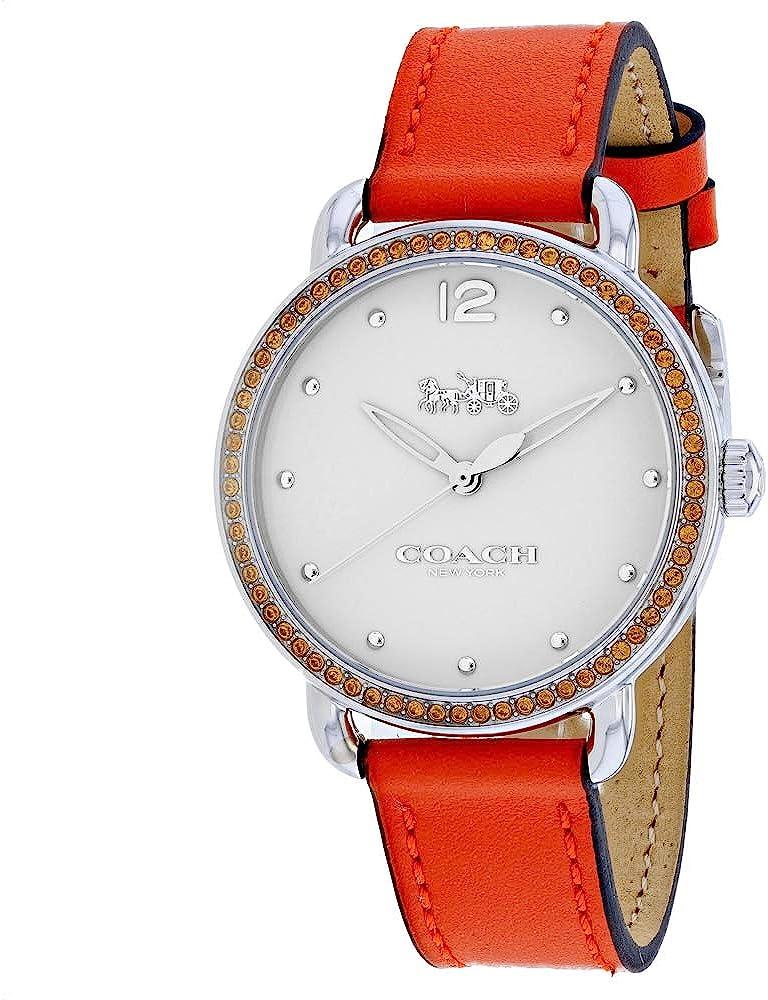 Coach Delancey Quartz Movement White Dial Ladies Watch 14502880