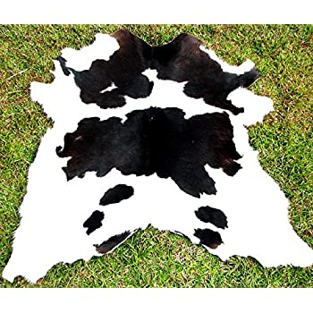 this item black and white calf hide cowhide rug cow hide skin leather area rug