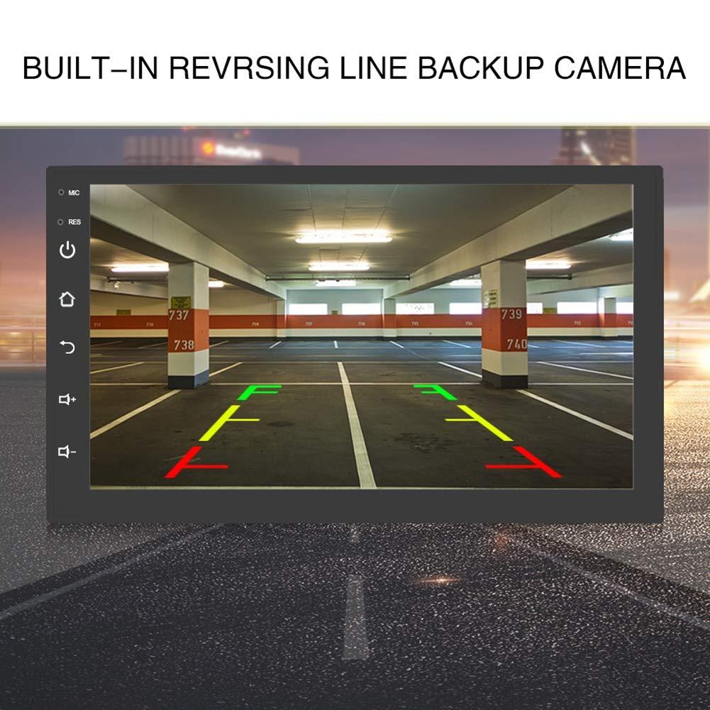 WBaRJ Sistema di Navigazione GPS Navigatore per Auto Touch Screen da 7 Pollici ad Alta Definizione navigatore GPS Universale per Auto con Lettore mp5