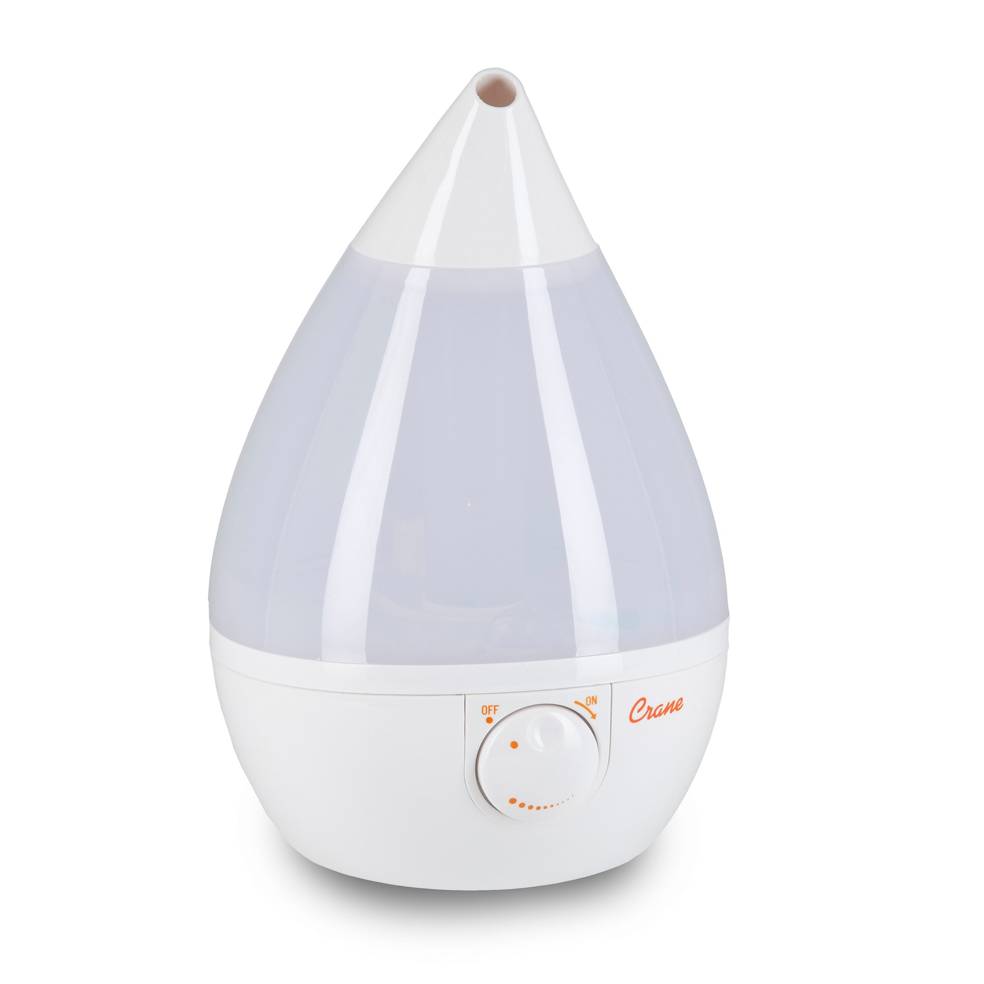 Crane USA Humidifier, Cool Mist, White