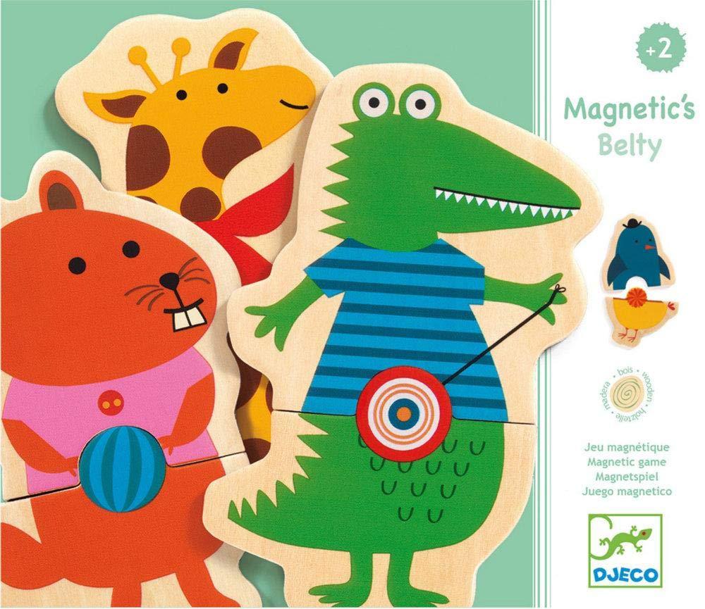 DJECO Adventskalender, magnetisches Spielzeug Belty, mehrfarbig (15 Stück) DJ03114