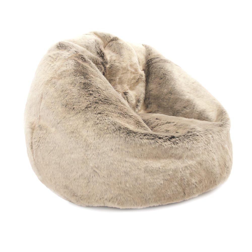 ICON Large Childrens Faux Fur Classic Bean Bag