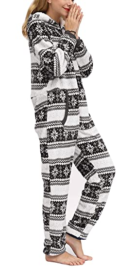 Orshoy - Mono de una Pieza para Mujer, Pijama, chándal, Traje de ...