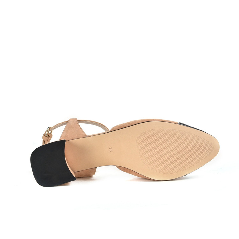 KEBINAI fashion-sneakers Kebinai 2018 Sandals Female with Small Incense Wind Single Shoes