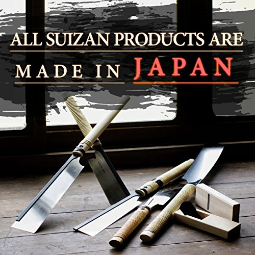 SUIZAN Japanese Pull Saw Hand Saw 9-1/2'' Ryoba (Double Edge) for Woodworking by SUIZAN (Image #3)