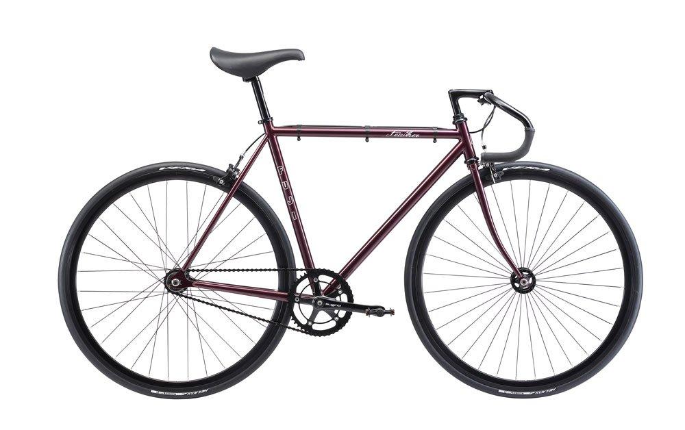 FUJI(フジ) FEATHER 58cm シングル DEEP PURPLE ロードバイク 2018年モデル 18FETRPR DEEP PURPLE 58cm B075SZJP2R