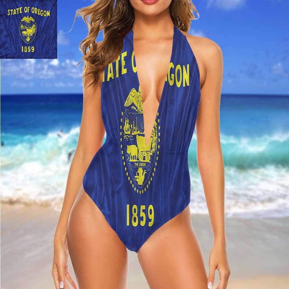 Ensemble de bikini taille haute américain, drapeau d\'indépendance du Delaware pour s\'adapter à tout le monde. Multi 19.