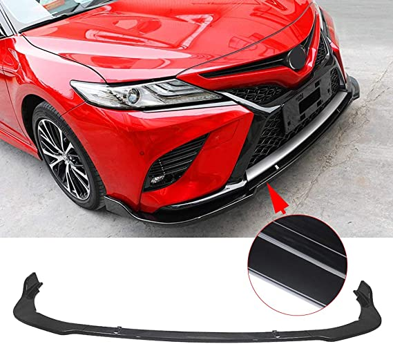 Exterior Accessories Front Bumper Lip Compatible With 2018-2020 ...