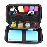 GUANHE Digital Gadget Case Waterproof Memory Card Case Electronics Accessories Case Used For External Hard Drive USB Flash Drives Power Banks
