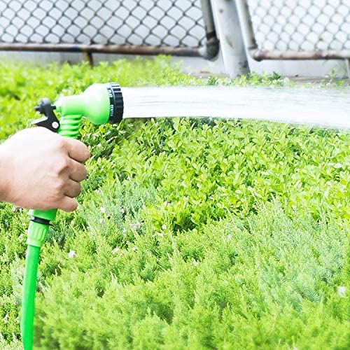 YUIOLIL Garden Hose Expandable 25Ft-100Ft Flexible Water Eu Plastic Pipe With Spray Gun To Watering,150Ft