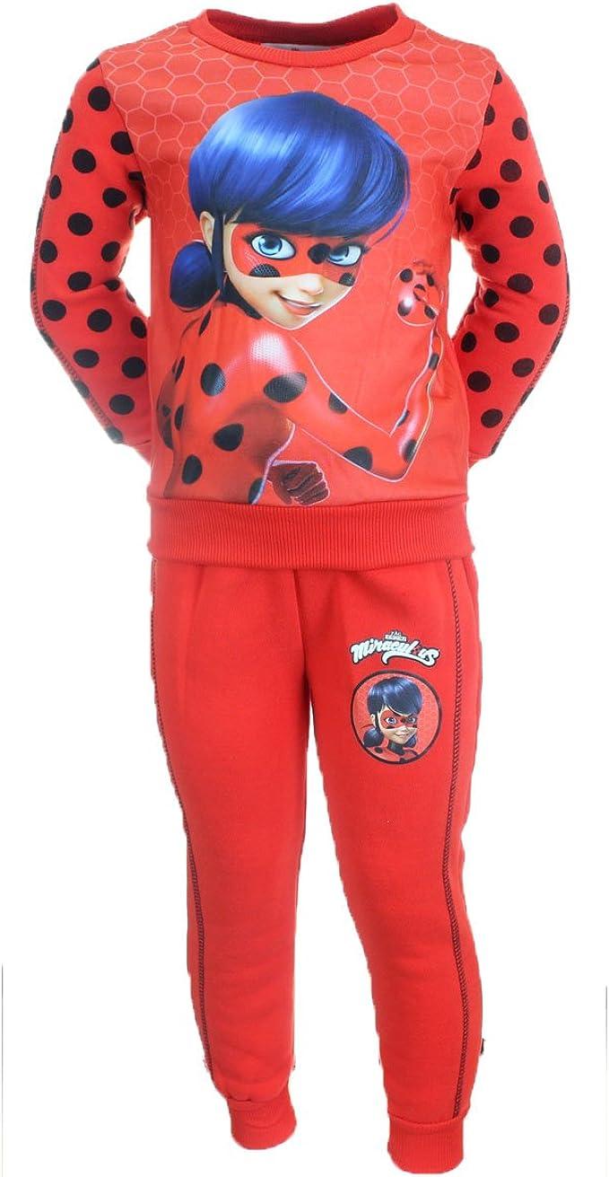 Ladybug Miraculous - Pantalón de chándal Infantil (Talla de 3 a 8 ...