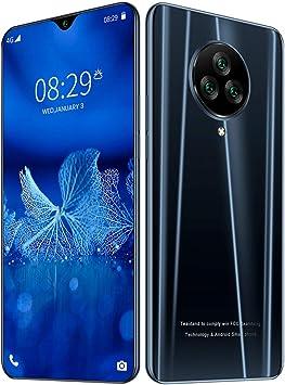 NE3 4G celulares, 6,6-Pulgadas de Pantalla Completa la Gota de rocío Smartphone Desbloqueado, Dual SIM, 8GB, Sensor de Huellas Dactilares, Face ID, del teléfono Celular de la batería 4500mAh,Black: Amazon.es: Electrónica