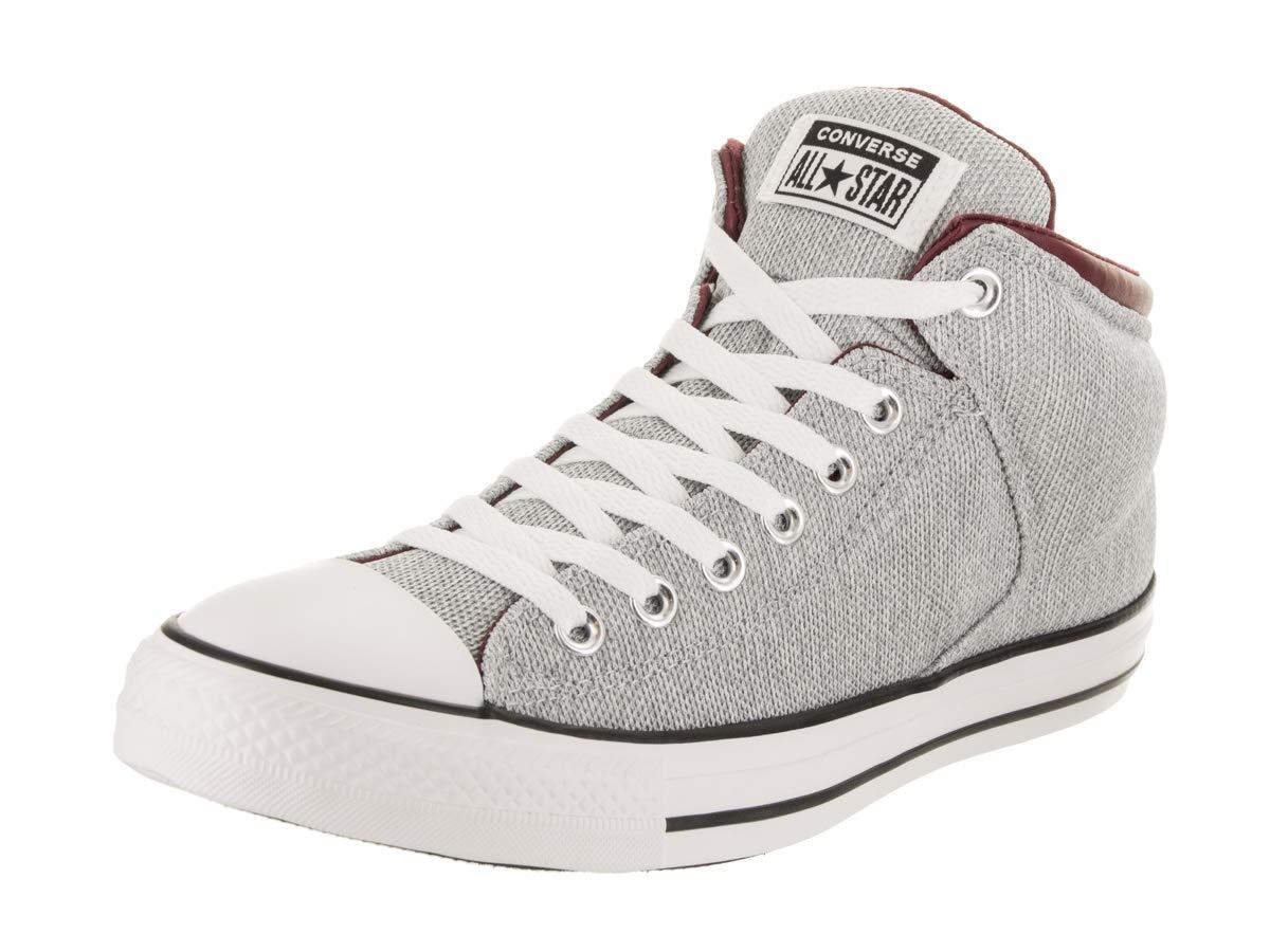 Converse Chuck Taylor All Star High Street High Top Sneaker White Dark  Burgundy 11166d797