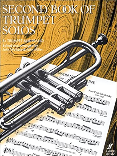 second book of trumpet solos faber edition