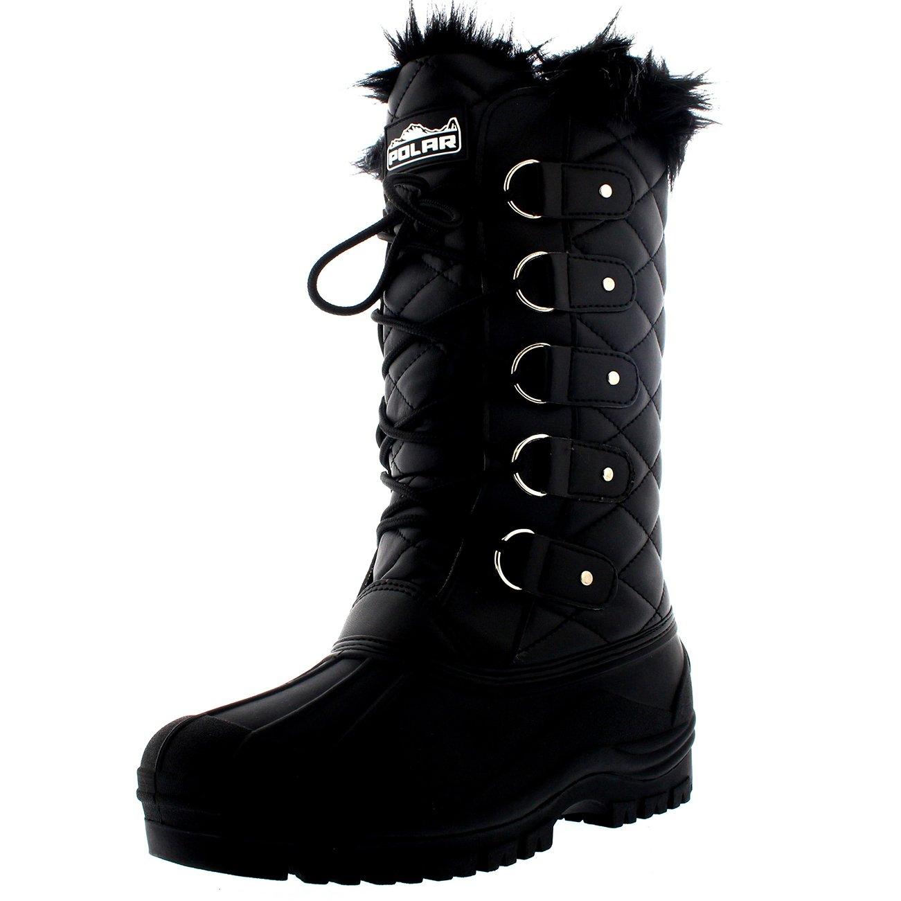 Black Waterproof Boots: Amazon.com
