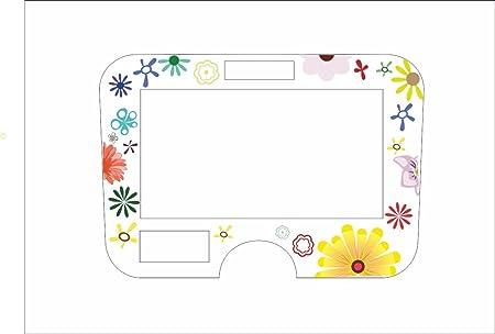 Protector de pantalla para Monsieur Cuisine Connect con flores, multicolor: Amazon.es: Hogar