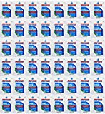 100-Pack Hand Sanitizer Gel Single-Use Packets - Hand Cleansing Gel - Contains 70% Ethyl Alcohol Non-Irritating Quick Drying Gel Reduces Bacteria Without Soap and Water