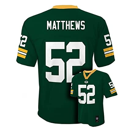 size 40 b6406 f8cf3 Outerstuff Clay Mathews Green Bay Packers Toddler Green Jersey