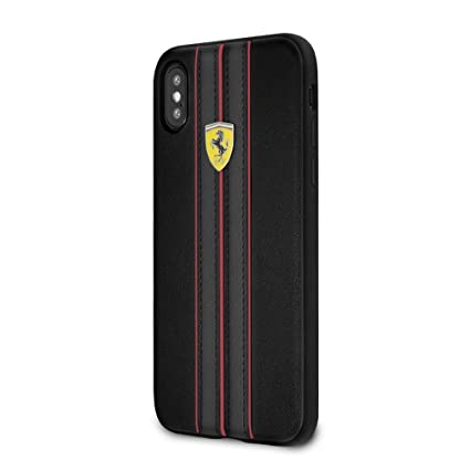 low priced e6849 4a15e Ferrari On Track Pu Leather Hard Back Cover Case for: Amazon.in ...