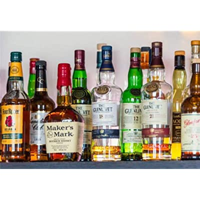 "Jigsaw Puzzles Whiskies and bourbons Scotland Landscape Stock Pictures Royalty Free for Kids Adults Educational Intellectual Game Gift Large Puzzle Toys DIY Challenge Indoor - 20""x30""(1000 Pieces): Toys & Games"