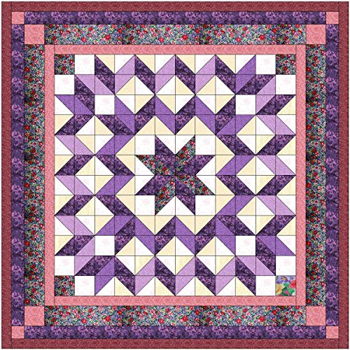 Easy Galaxy Star Size Quilt Kit/Pocket of Posies/EXPEDITED SHIPPING